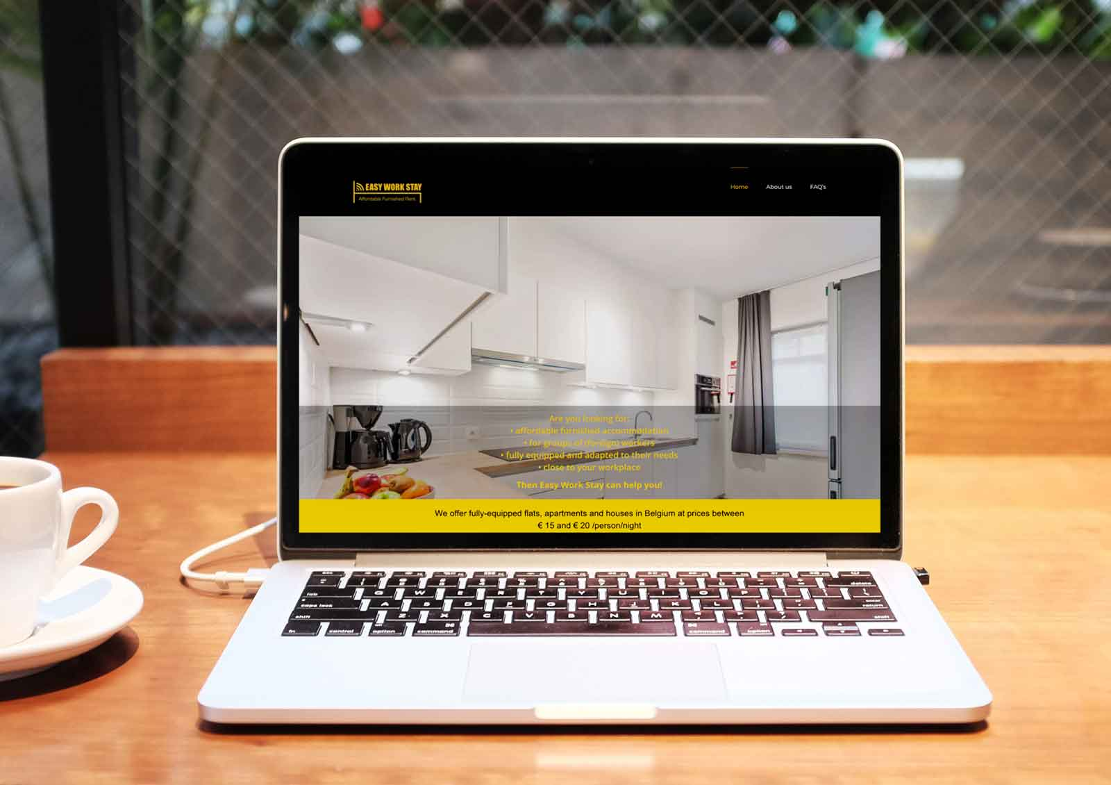 Webdesign Roeselare - Project EWS
